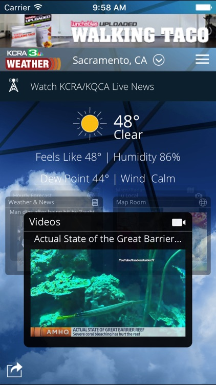 KCRA Weather screenshot-0