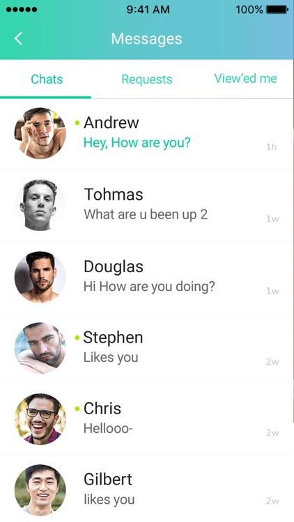 Gay hook up iphone app