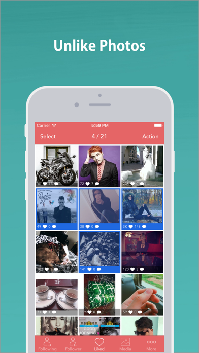 Download Mass Unfollow for Instagram for Pc