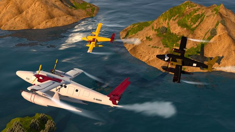 Flying Sea-Plane Games 2018 screenshot-6