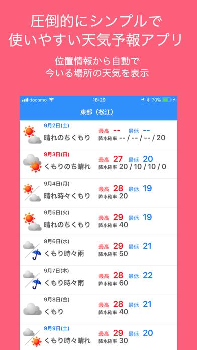 テンキくん ScreenShot0