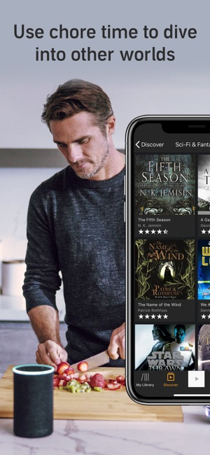 how to download audible books on iphone