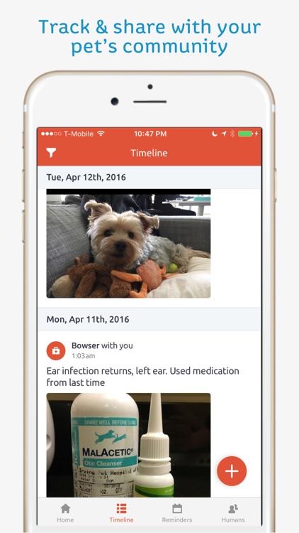 Pawprint - Pet Health Tracker screenshot-4
