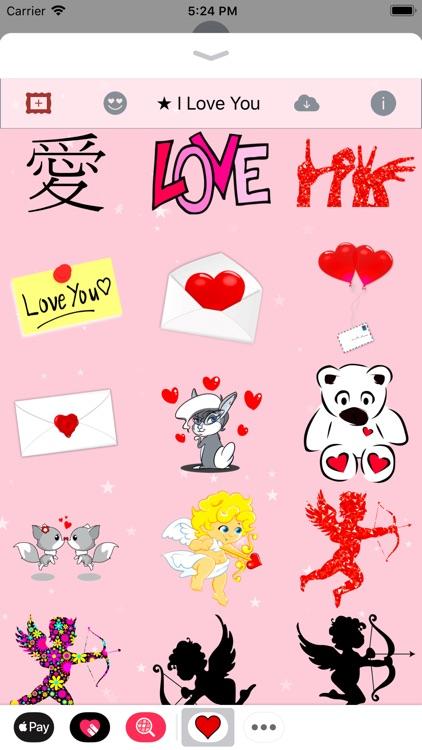 I Love You • Stickers & Emoji screenshot-4