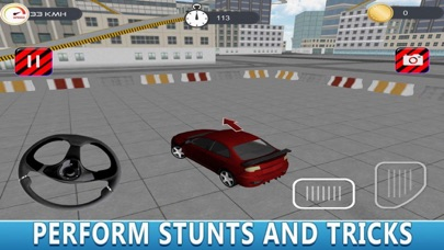 Town Jumping Modern Car