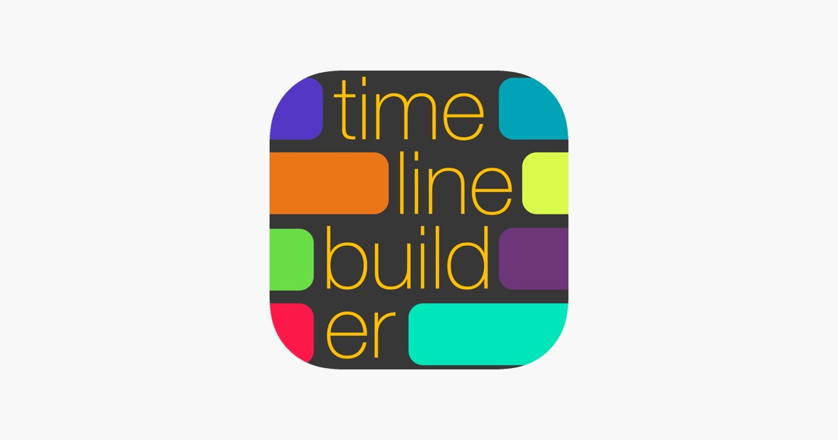 the timeline builder on the app store