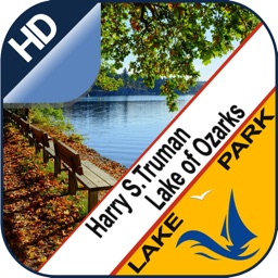 Truman Reservoir & Lake Ozarks gps offline charts