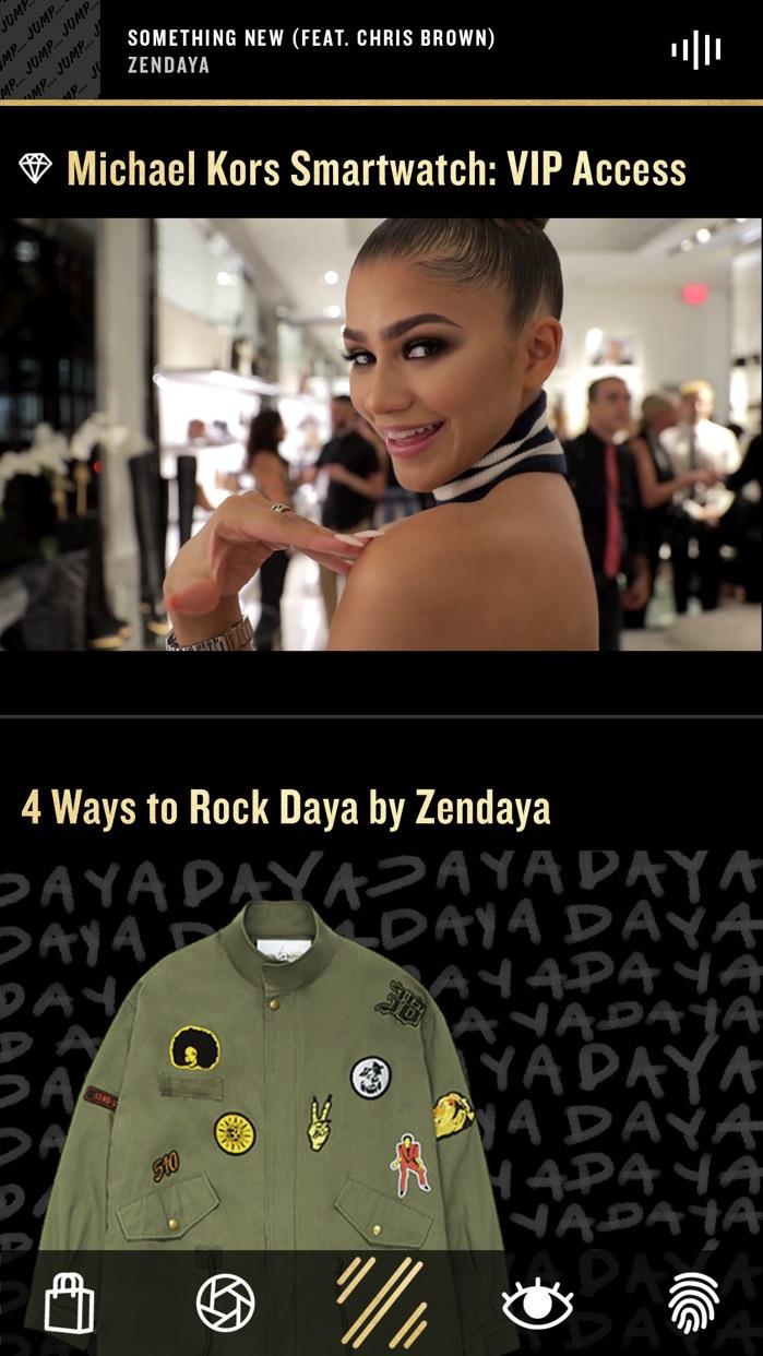 Zendaya: The App Screenshot