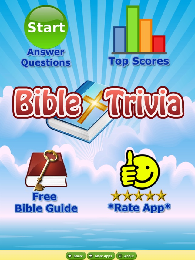 Bible Trivia Quiz - No Ads - Bible Study on the App Store