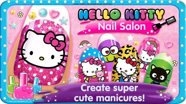 Hello Kitty Nail Salon On The App Store
