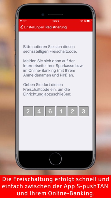 Screenshot for S-pushTAN in Germany App Store