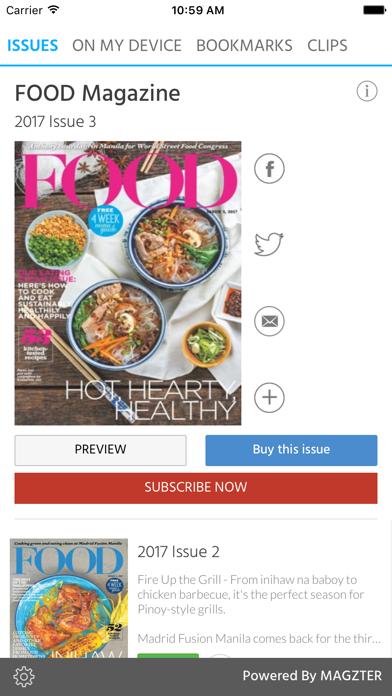 FOOD (Magazine) screenshot 1