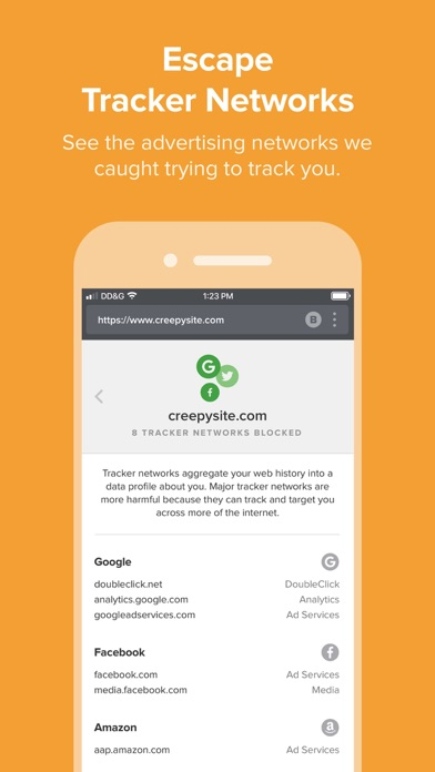 DuckDuckGo Privacy Browser app image