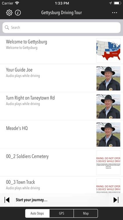 Gettysburg Driving Tour