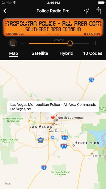Police Radio Pro - Mobile Scanner screenshot-3