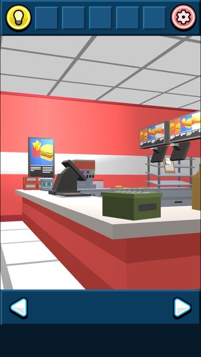 脱出ゲーム ハンバーガーショップからの脱出紹介画像1