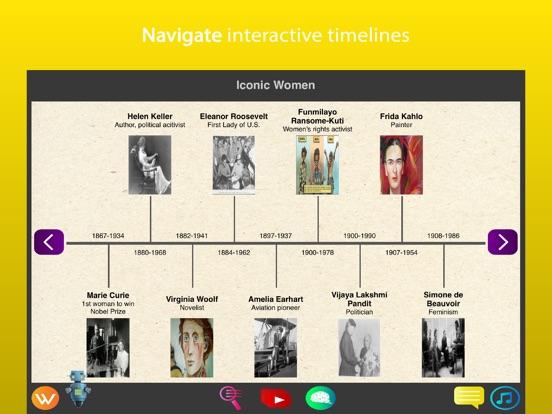 iPad Image of Wyz Iconic Women