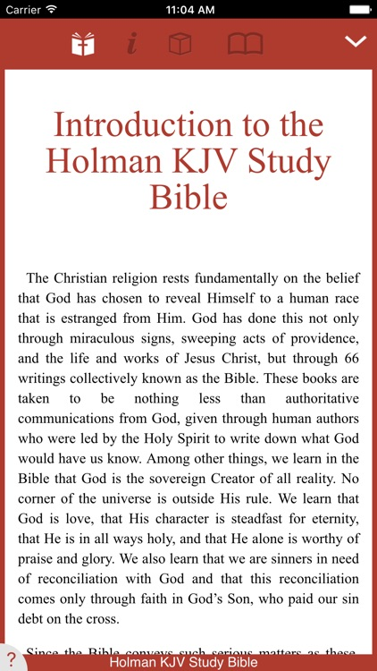 Holman KJV Study Bible screenshot-0