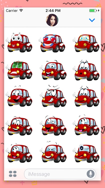 Car : Animated Stickers
