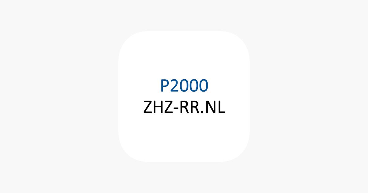 P2000 In De App Store