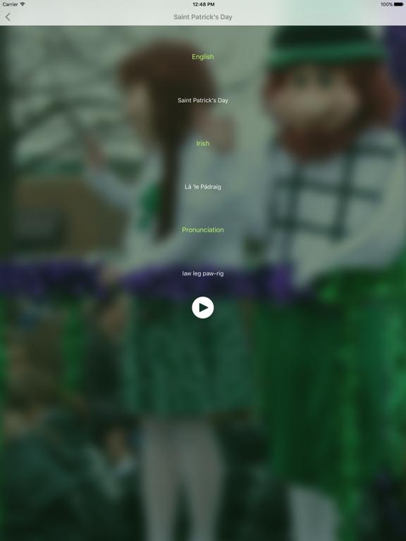 Focal Me - Irish (Gaelic) screenshot 9