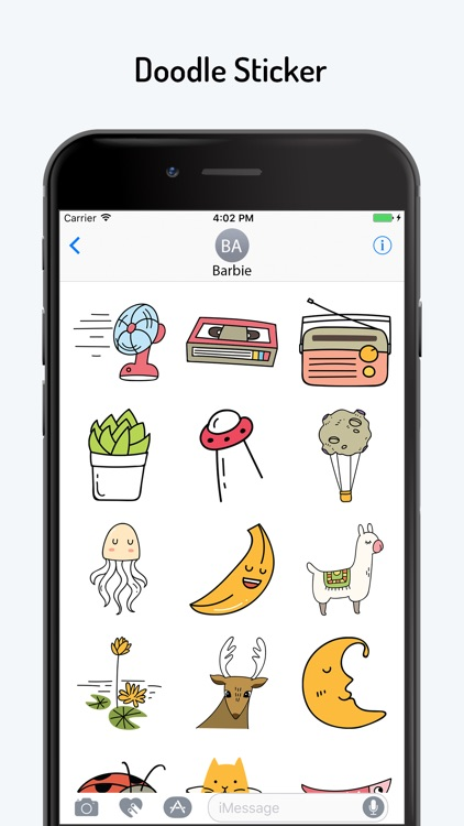 Doodle Text Stickers screenshot-1
