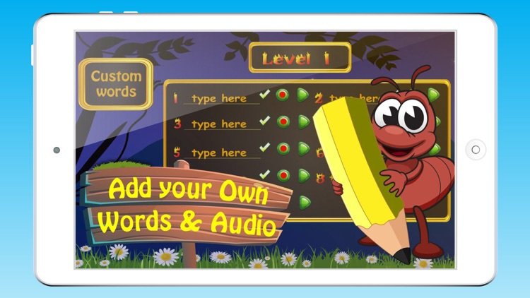 Fun Kids Spelling Word Games