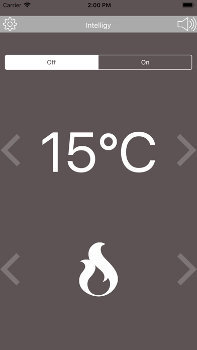 Intelligy Thermostat MKII screenshot