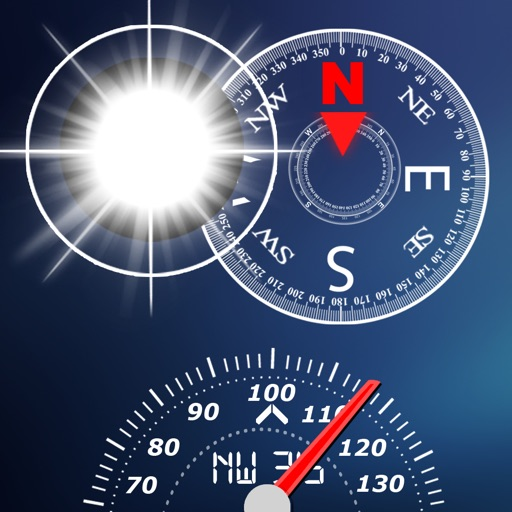 (CFSAC)Compass, Flashlight, Speedometer, Altimeter