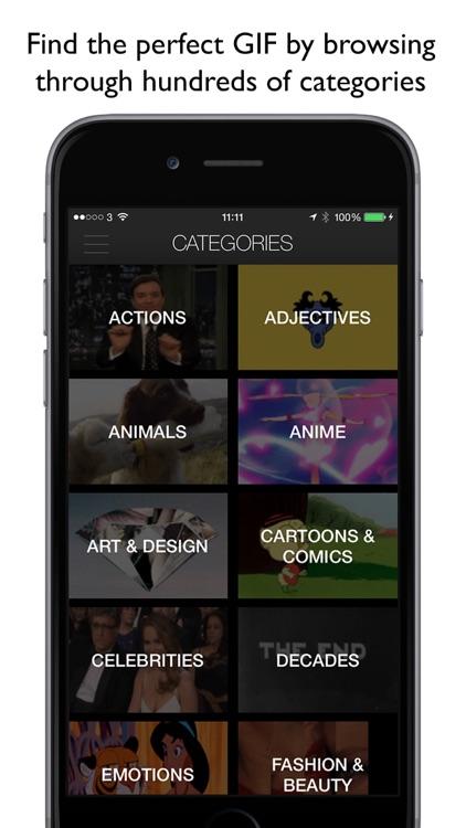 getGIF - search and share GIFs screenshot-4