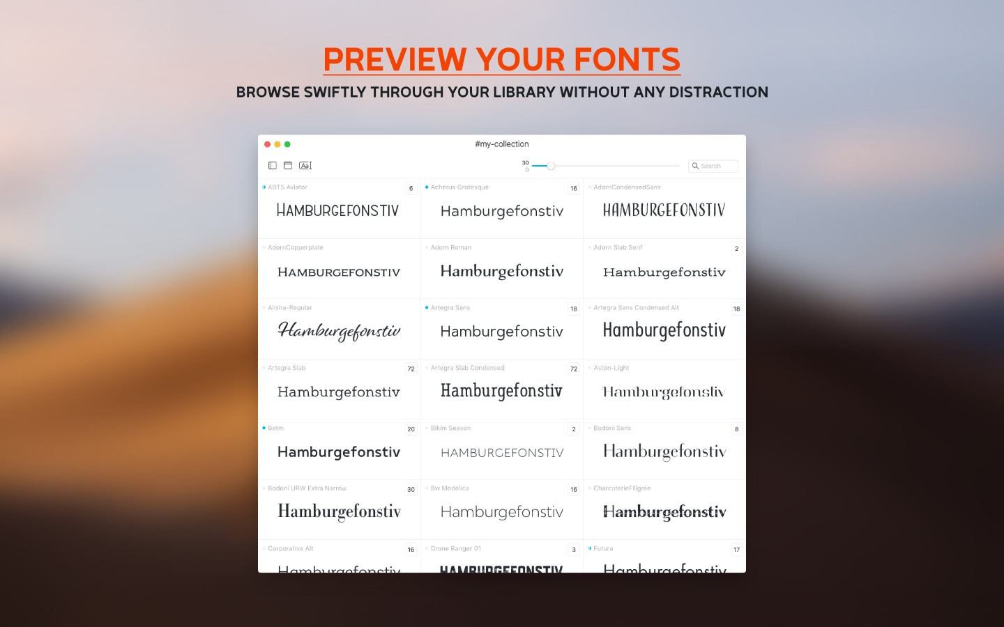 Typeface 2 5 0   download  AppKed