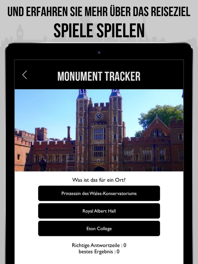 London Reiseführer Monument - offline Karte Screenshot