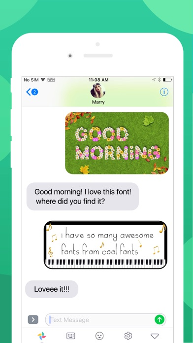 Cool Fonts Keyboard, Text Art app image