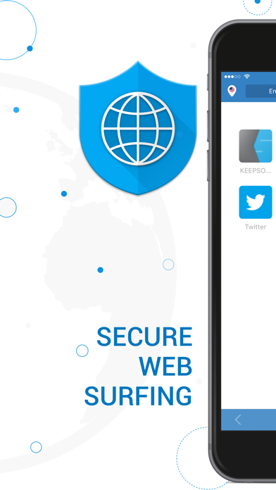 Private Browser - Surf Safe screenshot one