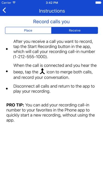 Call Record NOW screenshot-4