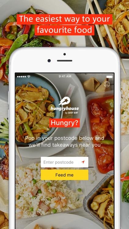 hungryhouse - takeaway food