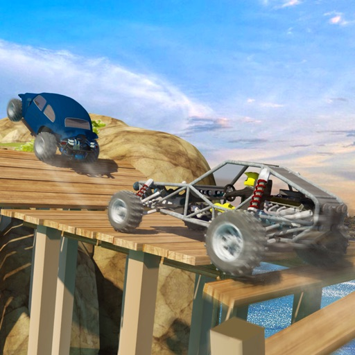 Dune Buggy Car Racing Extreme Beach Rally Driving By Techving