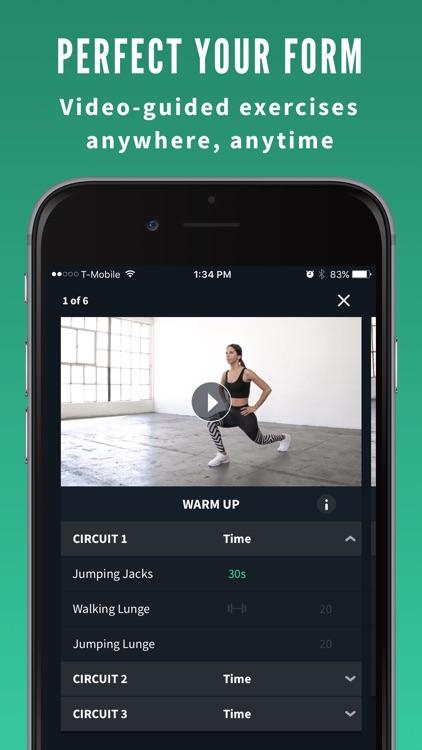 Fitplan: #1 Personal Trainer App screenshot-3