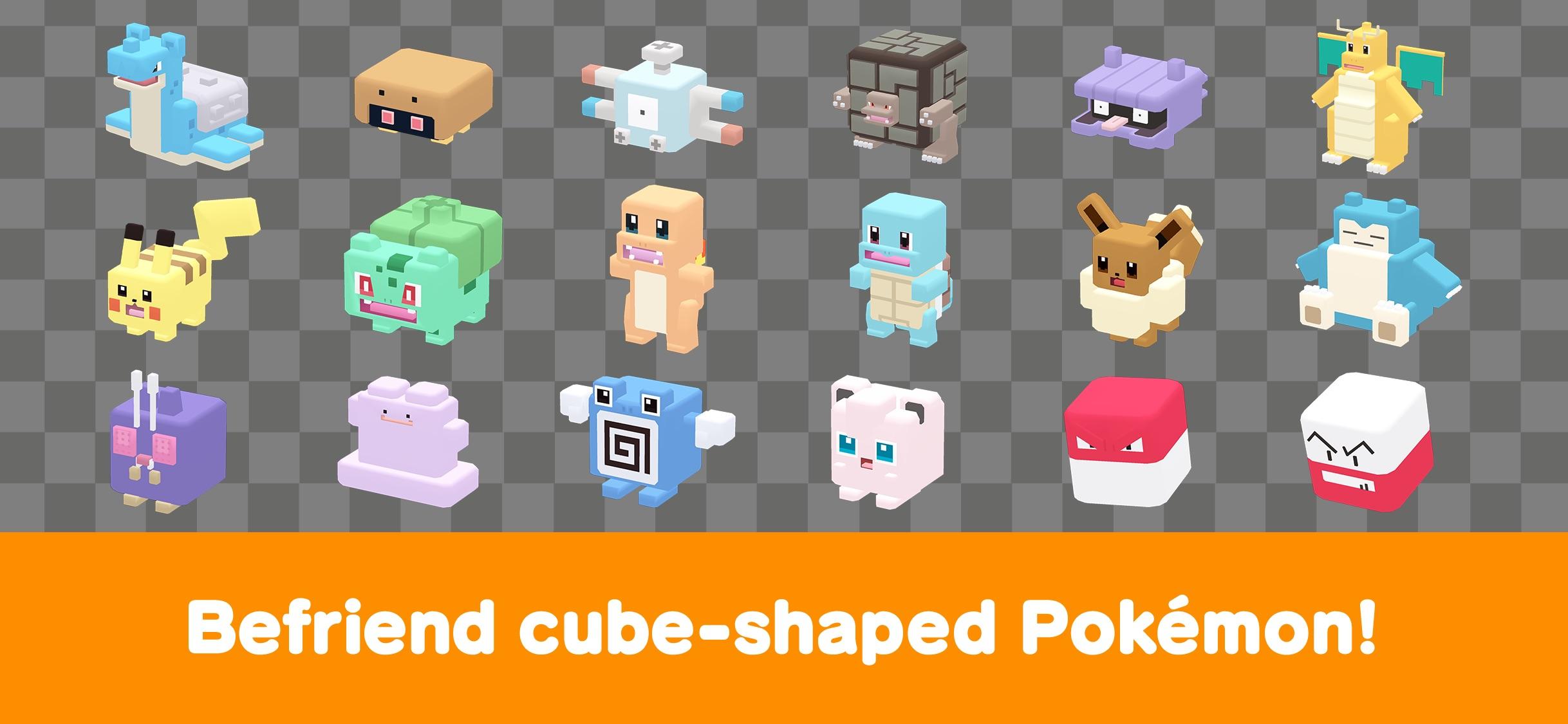 Screenshot do app Pokémon Quest