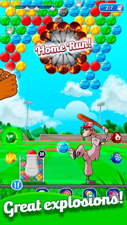 Baseball Bubble Shooter screenshot-4