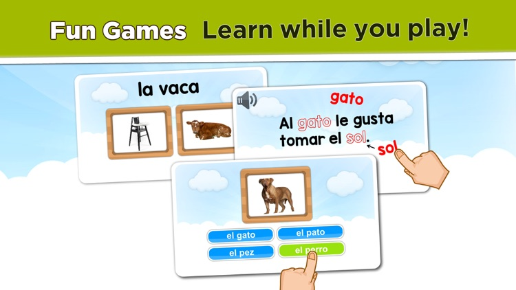 Learn Spanish lessons for kids screenshot-3