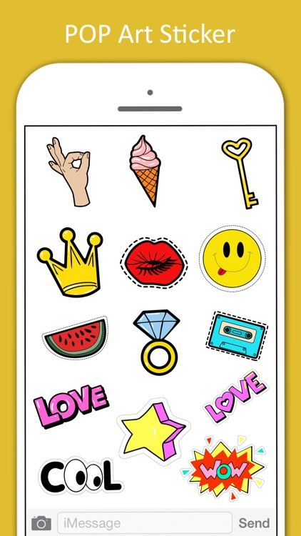 Pop Art Stickers Pack