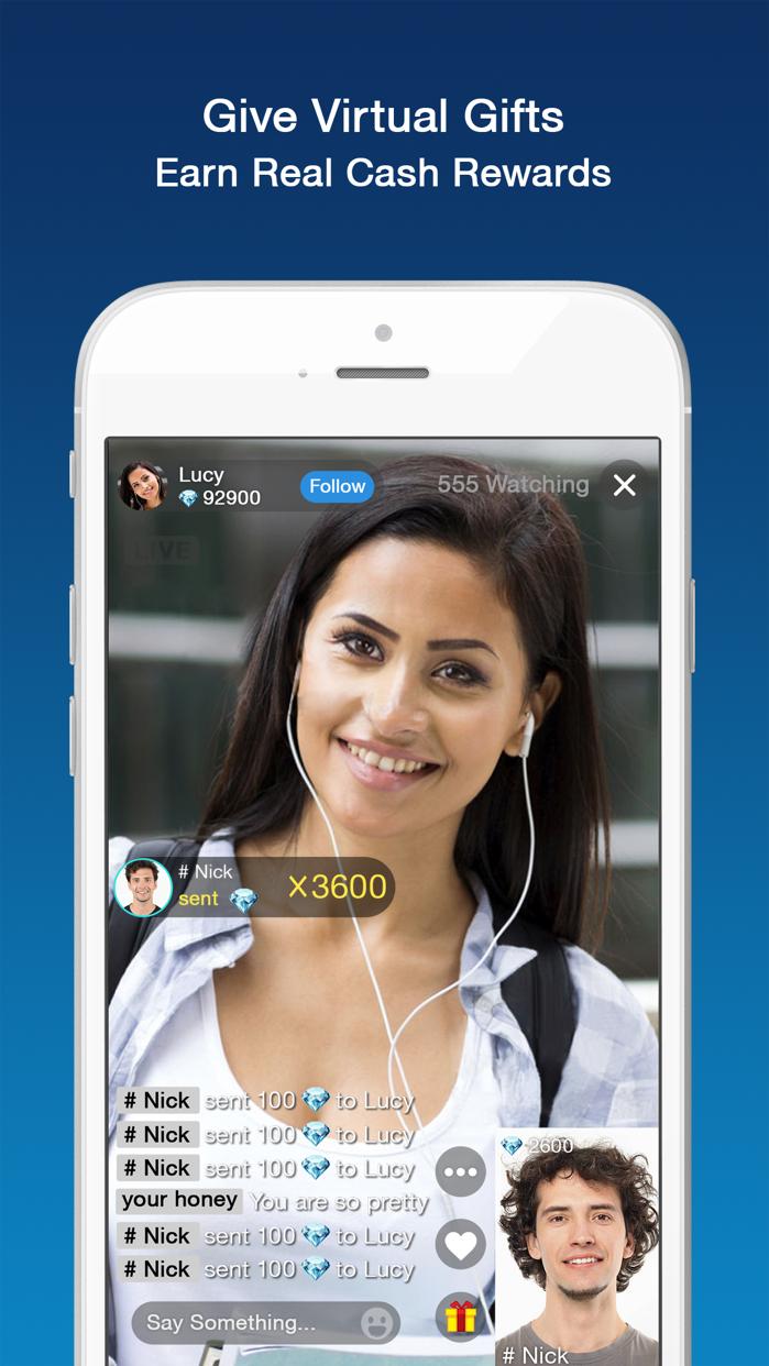 Cake - Live Stream Video Chat Screenshot