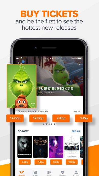Fandango review screenshots