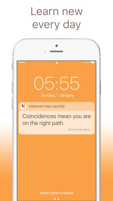 Yodha Life Quotes and Sayings Screenshot