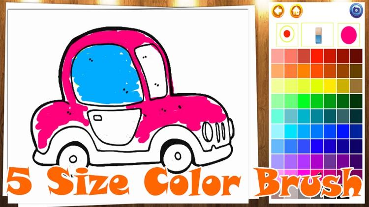 Coloring Book My Car screenshot-4