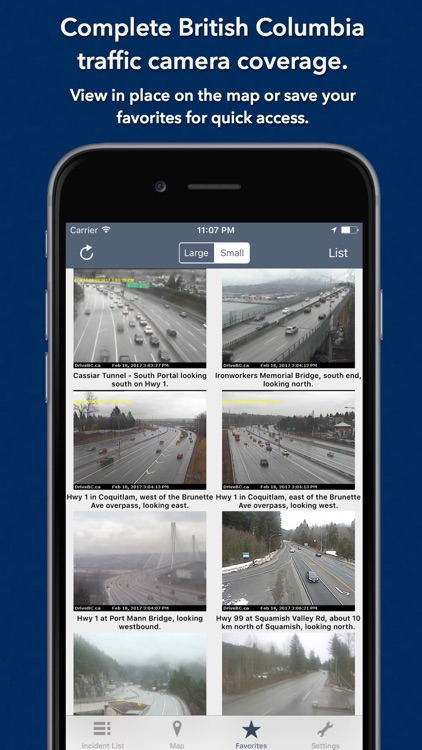 British Columbia Roads Traffic screenshot-3