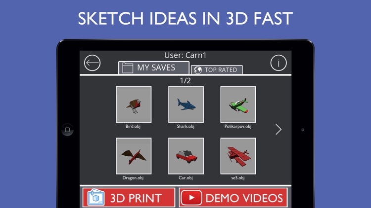 Sketch 3D:Easy 3D Modelling