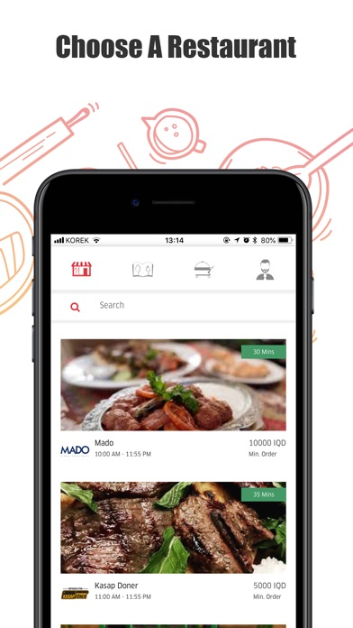 Lezzoo Eats: Food Ordering for Windows