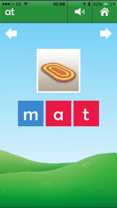 Phonics Reader screenshot one